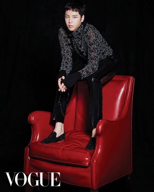 Jang Geun Suk. (Foto: VOGUE)