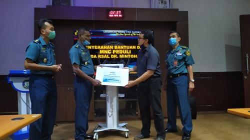 MNC Peduli Salurkan Bantuan APD ke RSAL Mintohardjo (Ist)