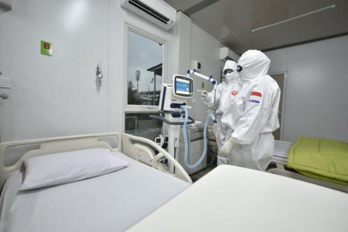 Alat pelindung diri dokter dari corona