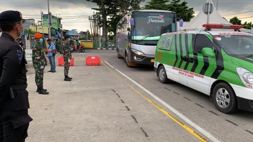 Jamaah tablig Kebon Jeruk Foto: Ist