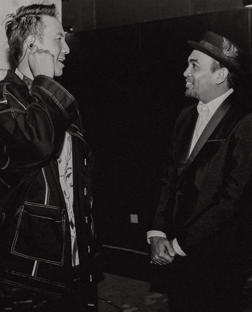 Daniel Mananta dan Glenn Fredly. (Foto: Instagram/@vjdaniel)