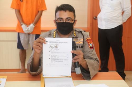 Direktorat Kriminal Khusus (Dit Reskrimsus) Polda Kepulauan Riau tangkap pria penghina Presiden Jokowi. (Ist)