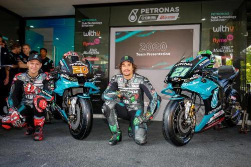 Petronas Yamaha SRT baru dibentuk pada 2019 (Foto: MotoGP)