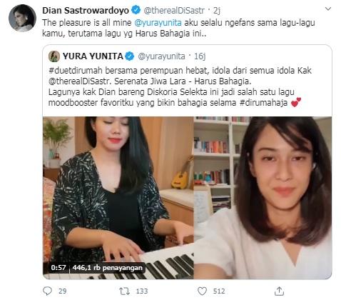 Yura Yunita x Dian Sastro
