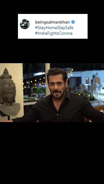 Salman Khan. (Foto: Instagram/@beingsalmankhan)
