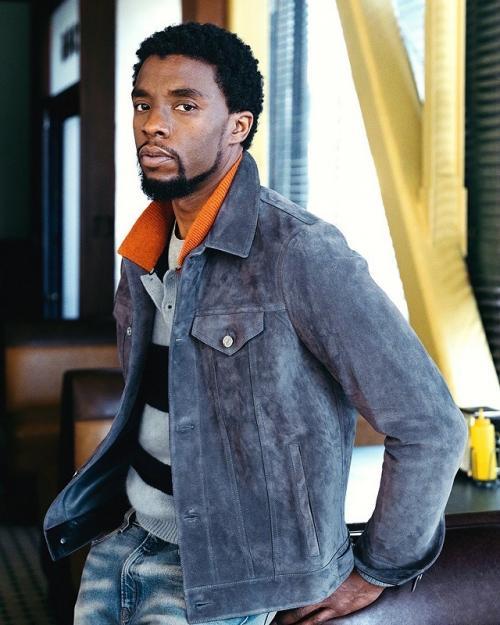 Chadwick Boseman. (Foto: Mr, Porter)