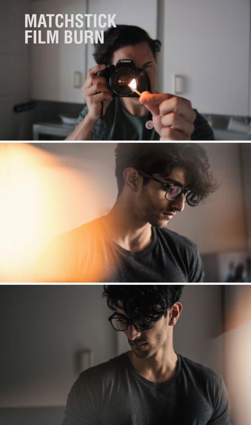 Anda bisa menciptakan hasil karya fotografi yang keren dengan bantuan alat-alat sederhana.