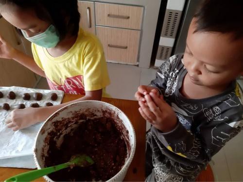 Choco Outmeal resep keluarga