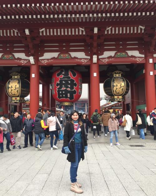 Kuil sensoji di Jepang