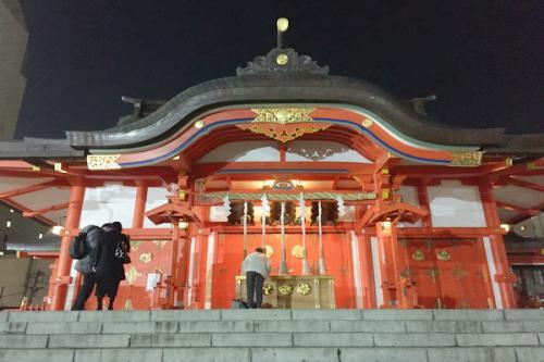 Kuil Hanazono di Tokyo