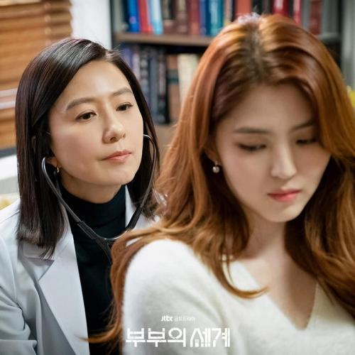 Kim Hee Ae dalam drama The World of the Married.