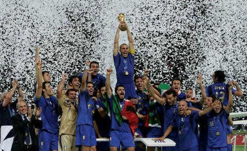 Timnas Italia juara Piala Dunia 2006
