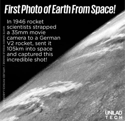 Intip Foto Pertama Bumi dari Luar Angkasa