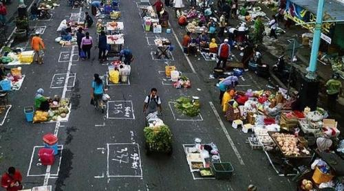 Pasar Jaga Jarak di Salatiga