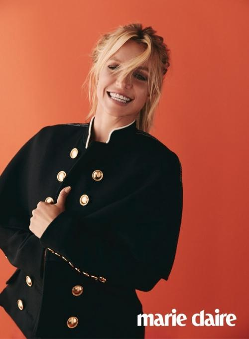 Britney Spears. (Foto: Marie Claire)