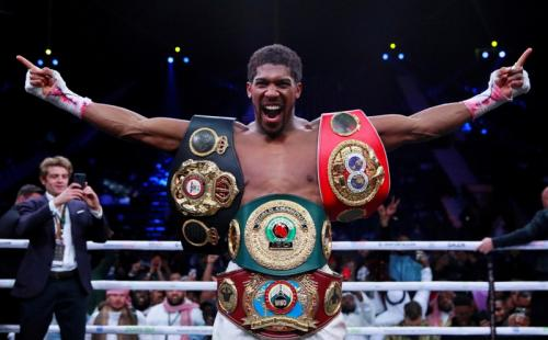 Anthony Joshua (Foto: The Sun)