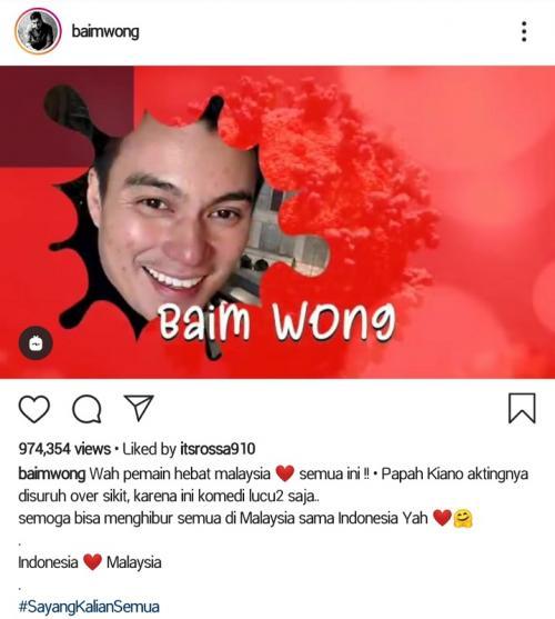 Baim Wong.