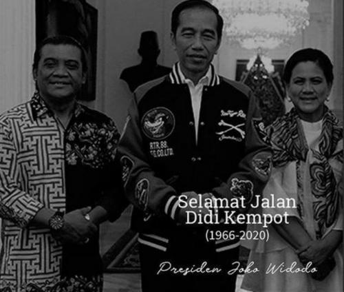 Jokowi dan Didi Kempot