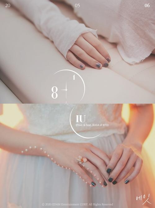 Teaser single digital IU dan Suga BTS, Eight.