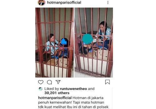 Instagram Hotman Paris