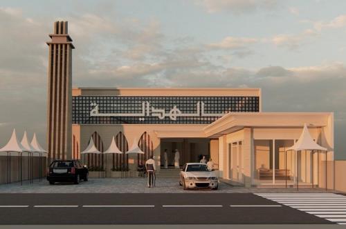 Penampakan desain masjid yang tengah dibangun Atta Halilintar. (Foto: Instagram/@attahalilintar)