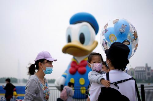 Pengunjung Disneyland