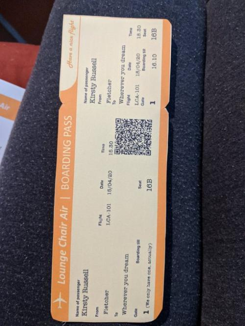 Tiket Pesawat Virtual