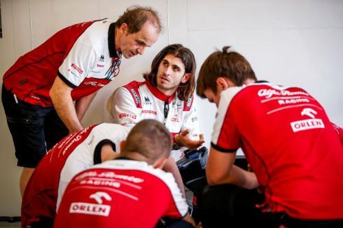 Antonio Giovinazzi belum saatnya ke Ferrari (Foto: Twitter/@anto_giovinazzi)