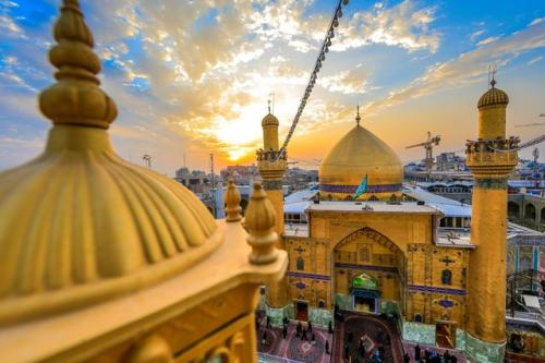 Makam Imam Ali. (Foto: Dailysabah.com)