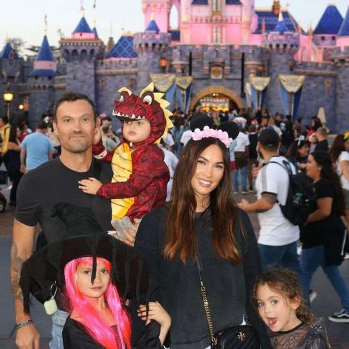 Megan Fox dan keluarga