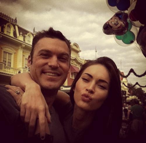 Megan Fox dan Brian Austin