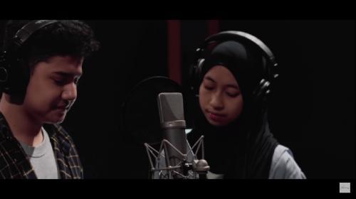 Syakir Daulay dan Adiba