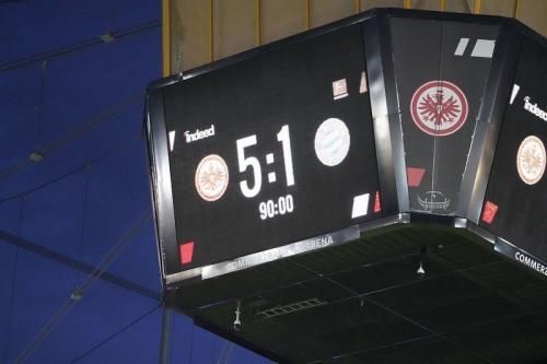 Eintracht Frankfurt menang telak atas Bayern Munich 5-1 (Foto: Eintracht Frankfurt)