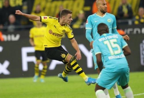 Borussia Dortmund menang telak 3-0 pada pertemuan pertama (Foto: Twitter/@BlackYellow)