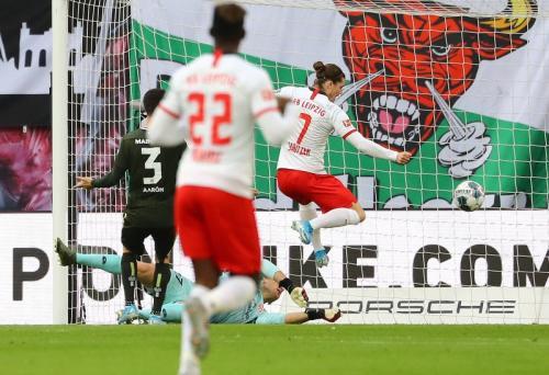 RB Leipzig mempermalukan Mainz dengan skor 8-0 (Foto: RB Leipzig)