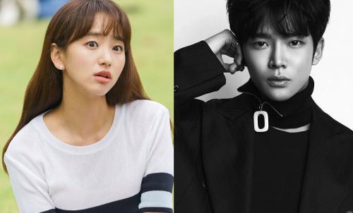 Woo Jin Ah dan Rowoon SF9. (Foto: tvN/DAZED)