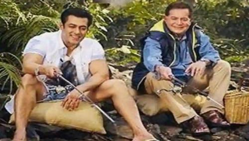 Salman Khan dan ayah