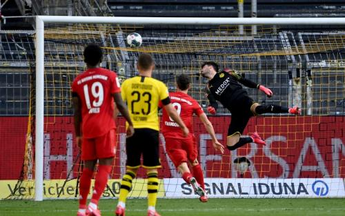 Laga Borussia Dortmund vs Bayern Munich