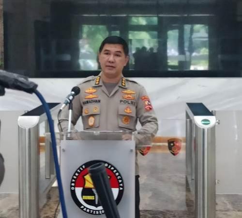 Kepala Bagian Penerangan Umum Divisi Humas Polri, Kombes Ahmad Ramadhan. (Foto : Okezone)