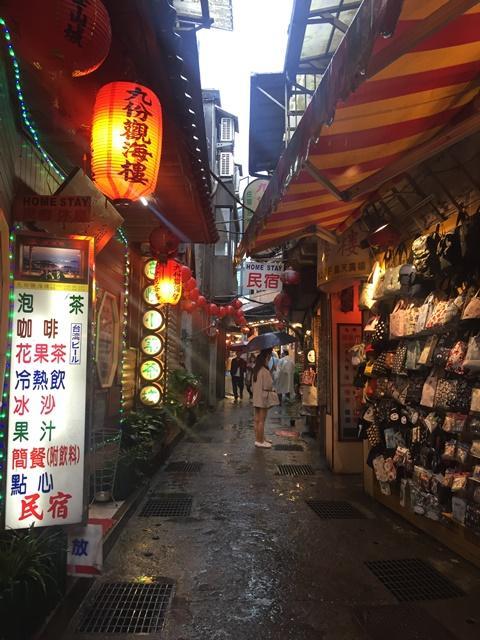 Kota Jiufen di Taiwan. (Foto: Istimewa)