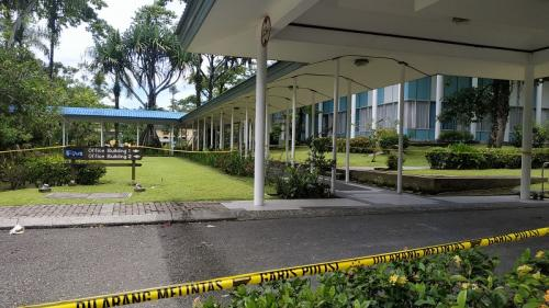 Kantor PT Freeport Indonesia di Kuala Kencana yang diserang KKB Kali Kopi.(Ist)