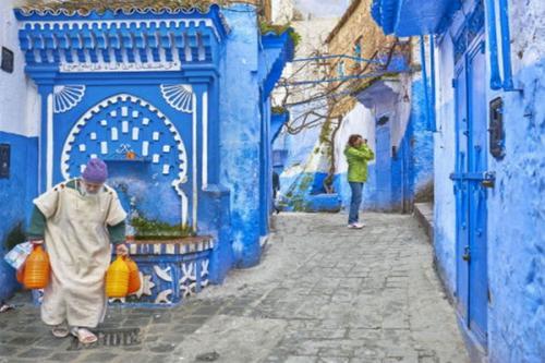 Kota Biru Maroko