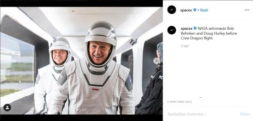 Astronot SpaceX
