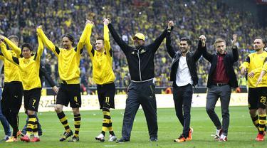 Jurgen Klopp di Dortmund