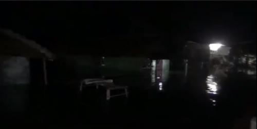 Rumah warga di Pantura Subang terendam banjir. (iNews/Yudy Heryawan)