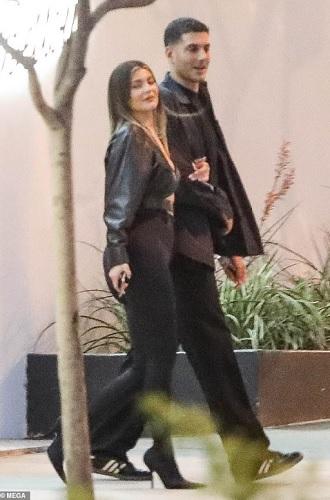 Kylie Jenner dan Fai Khadra. (Foto: MEGA)