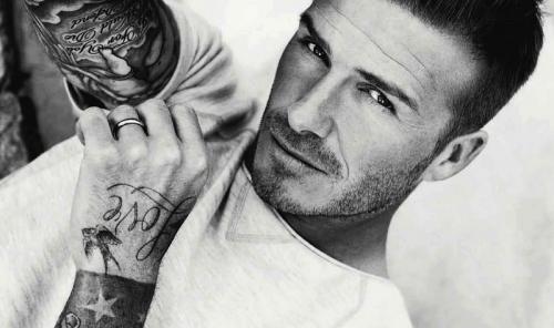 David Beckham. (Foto: ELLE)