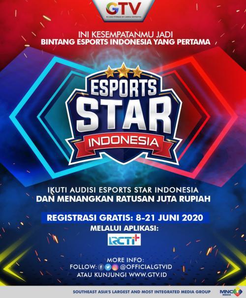 Ribuan Peserta Ramaikan Registrasi Audisi eSport Star Indonesia