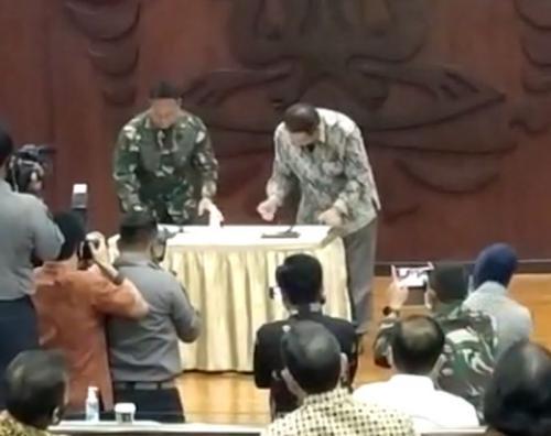UI dan TNI AD teken Mou