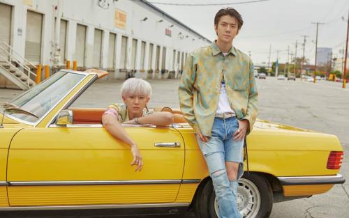 Chanyeol dan Sehun